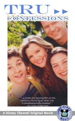 Disney Channel Original Movies wallpaper entitled Tru Confessions movie poster