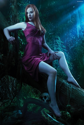 Deborah Ann Woll fondo de pantalla titled True Blood S3 Still