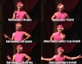 Umbridge's rules.  - a-very-potter-musical photo