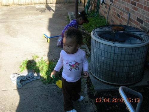 Xavier's little sister