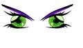 anime eyes 2 - anime fan art