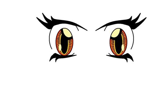 아니메 eyes 3