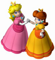 best friends - princess-peach-and-daisy photo
