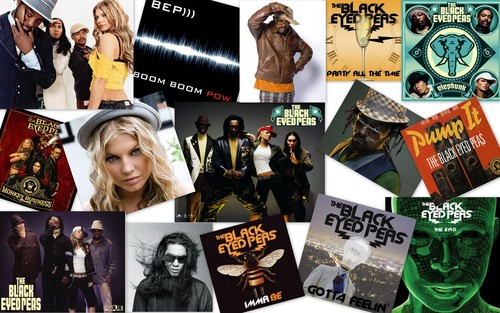 black eyed peas collage