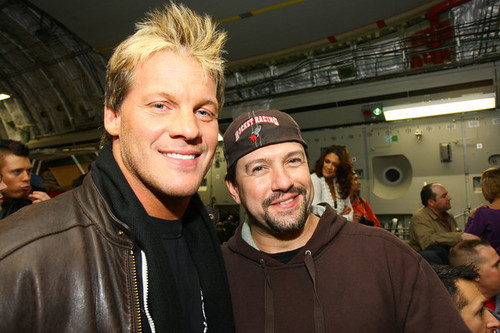 chris jericho with a tagahanga