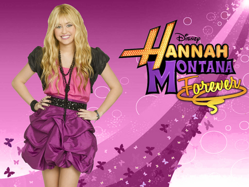 Hannah Montana wallpaper titled hannah montana forever.......pics by pearl....:D