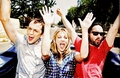 jim/kaley/johnny - jim-parsons-and-kaley-cuoco photo