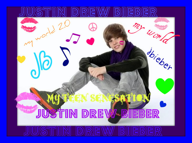justin bieber collage wallpaper. justin bieber collage - Justin