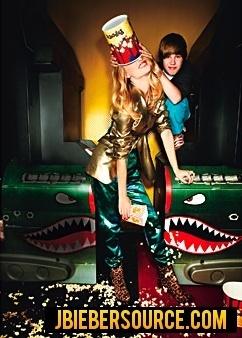 justin bieber glamour magazine shoot