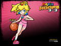 mario hoops peach - princess-peach-and-daisy wallpaper