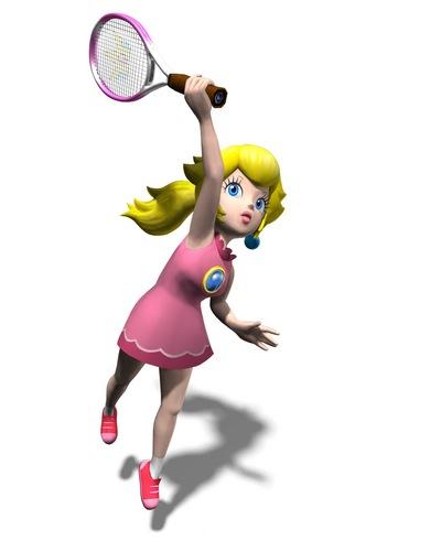 mario power テニス 桃, ピーチ