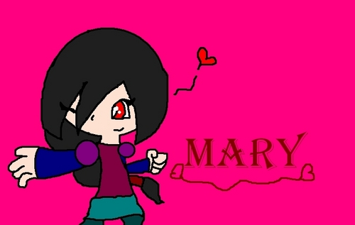 my OC mary - phineas-and-ferb Fan Art