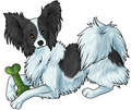 papillon - all-small-dogs fan art