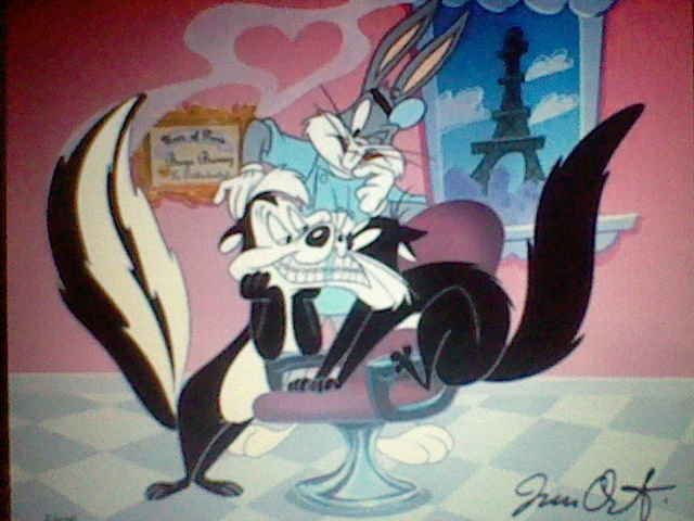 pepe le pew penipy and bugs