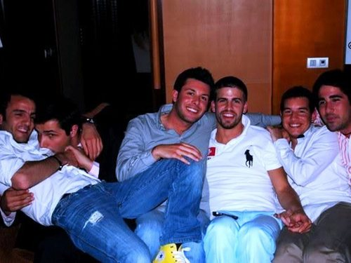 piqué and boys
