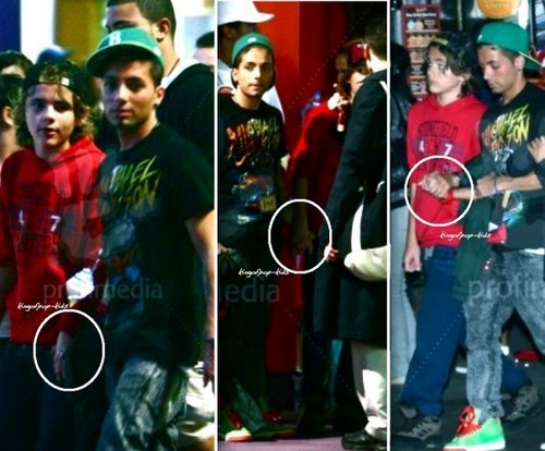 prince and omer so cute together