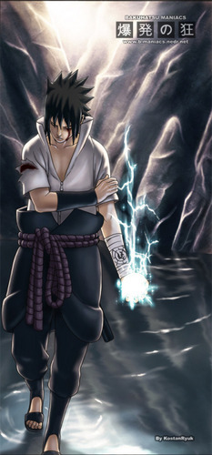 sasuke is  the best