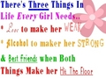 3 things every girl needs