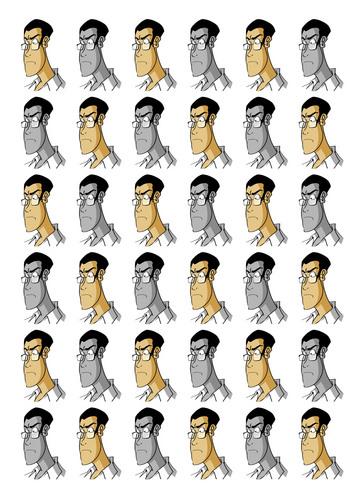 AVGN face pattern 01
