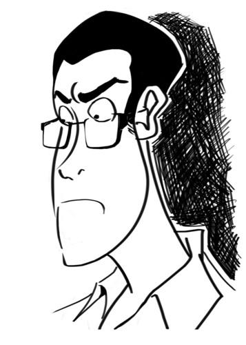 AVGN caricature