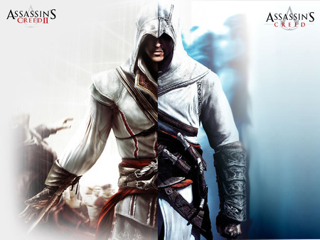 Assassin's Creed wallpaper titled Altair and Ezio