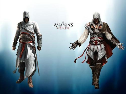 Altair and Ezio - assassins-creed Photo