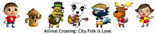 AnimaL Crossing City Folk is প্রণয়