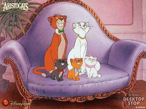 Disney Animals wallpaper called Aristacats
