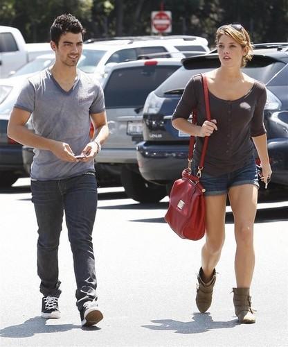 Ashley Greene And Joe Jonas Out In Studio City