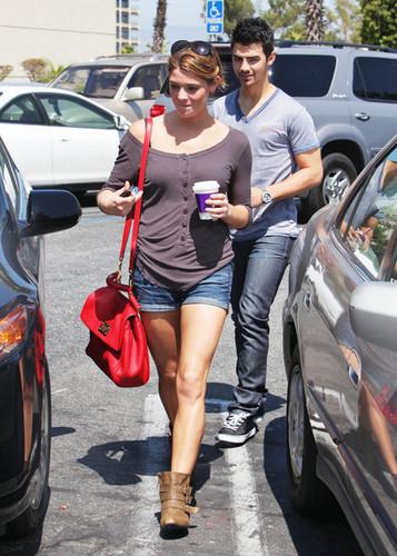 Ashley & Joe out in Studio City