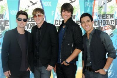 BTR @ Teen Choice Awards