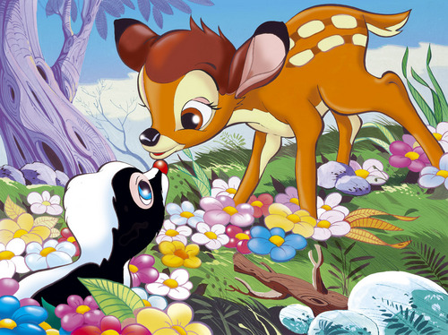 Bambi and bloem