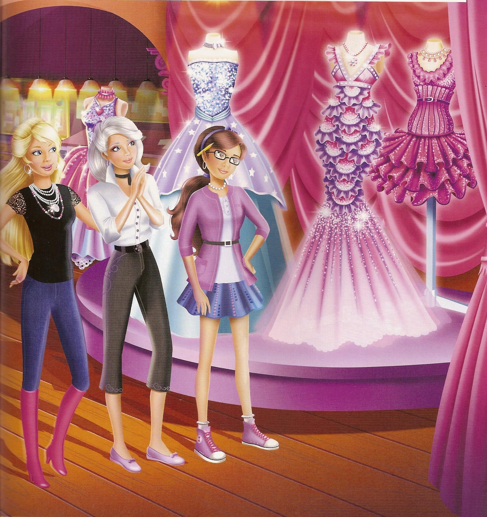Barbie And A Fashion Fairytale Games Barbie Fashion Fairy Tale
