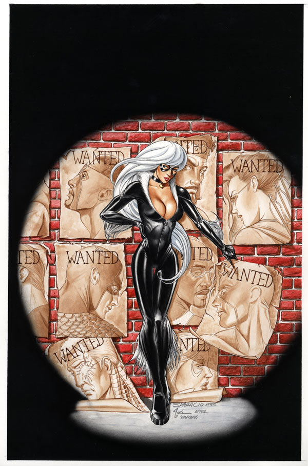 Marvel Comics Black Cat