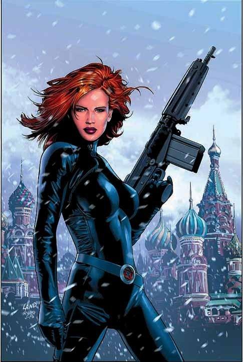 Black widow marvel - photo#17