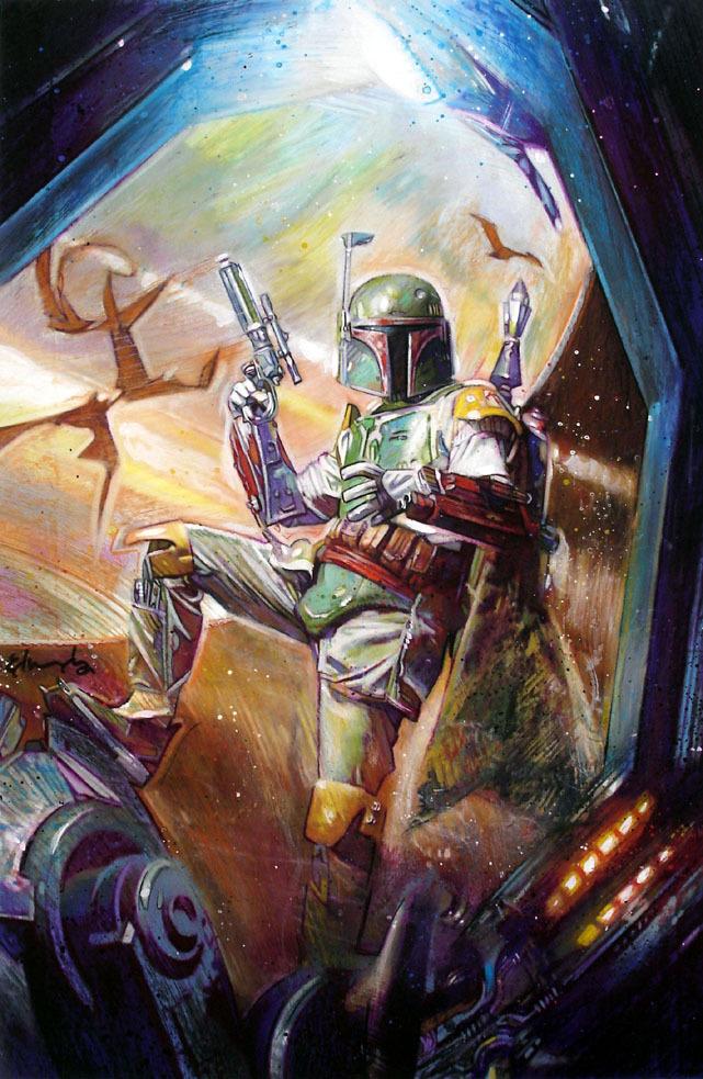 Boba Fett images Boba Fett Painting HD wallpaper and ...