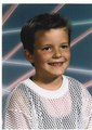 Brandon flowers, when he was young, in the 80s.