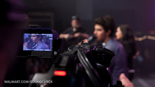 Camp Rock 2 w/Demi Lovato and Jonas Brothers on Soundcheck