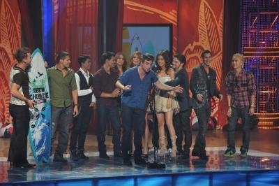 Cast @ 2010 Teen Choice Awards
