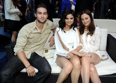 Chace & Leighton @ 2010 Teen Choice Awards with Selena Gomez
