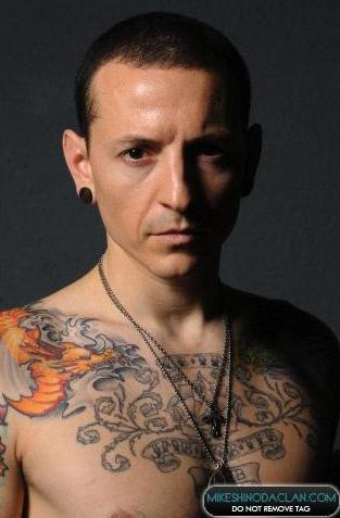 Chester tatuagens