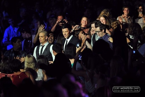 Cory @ 2010 Teen Choice Awards - Show