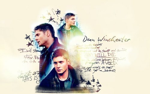 TV Male Characters wallpaper entitled Dean Winchester