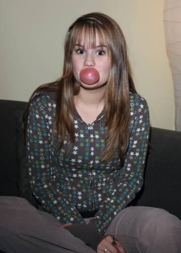 Debby Doing School Work(April,8 2009)