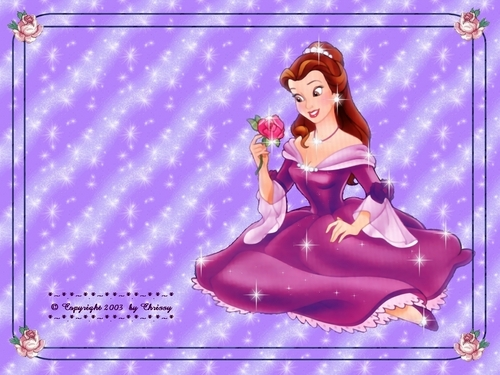 Belle - classic-disney Wallpaper