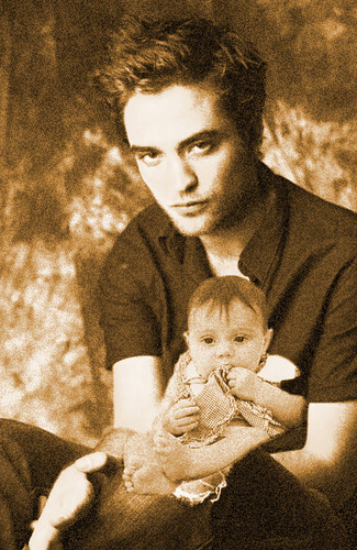 Edward and baby Renesmee