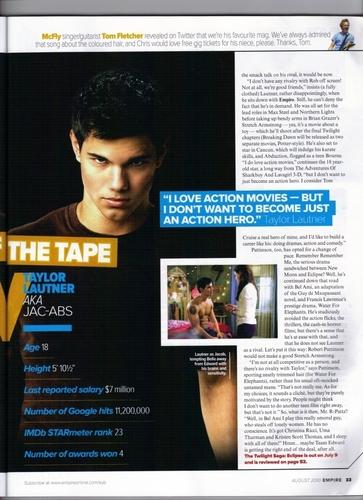 Empire Magazine, August 2010