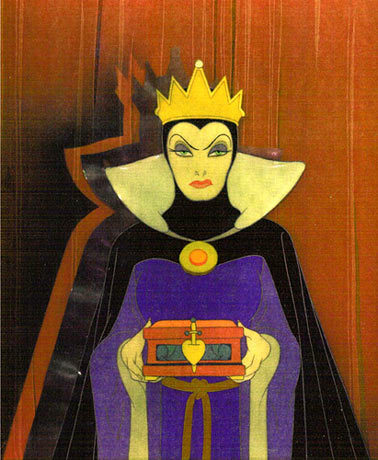 les méchants de Disney fond d'écran entitled Evil Queen
