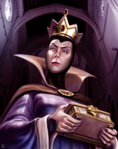 cattivi Disney wallpaper titled Evil Queen