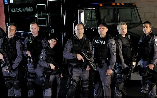 Flashpoint wallpaper - Cast